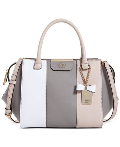 GUESS Ryann Small Satchel - Handbags & Accessories - Macy's