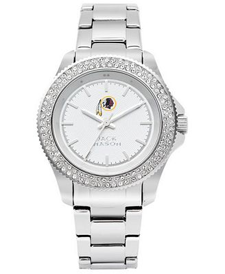 Jack Mason Women's Washington Redskins Glitz Sport Bracelet Watch