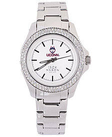 Jack Mason Women's Connecticut Huskies Glitz Sport Bracelet Watch