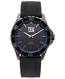 Jack Mason Men's New York Giants Sport Silicone Strap Watch