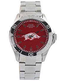Jack Mason Men's Arkansas Razorbacks Color Sport Bracelet Watch