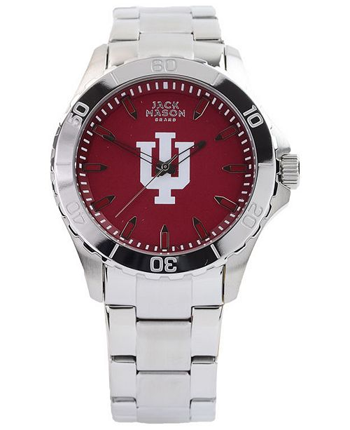 Jack Mason Men's Indiana Hoosiers Color Sport Bracelet Watch