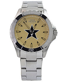 Jack Mason Men's Vanderbilt Commodores Color Sport Bracelet Watch