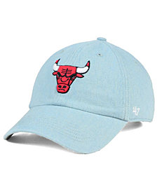 '47 Brand Chicago Bulls All Denim CLEAN UP Cap
