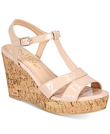 Callisto Aspenn Platform Wedge Sandals