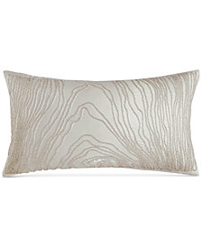 "Hotel Collection Agate 12"" x 22"" Decorative Pillow, Created for Macy's"