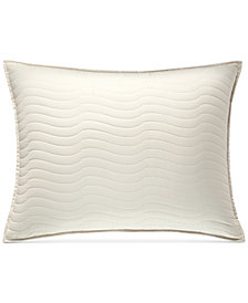 Hotel Collection Agate Pima Cotton Quilted King Sham, Created for Macy's