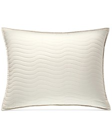 Hotel Collection Agate Pima Cotton Quilted Standard Sham, Created for Macy's