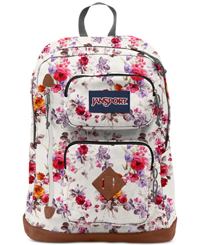 Jansport Austin Floral Memory Backpack - Wallets & Accessories ...