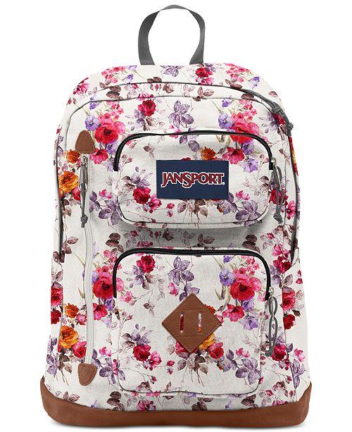 Jansport Austin Floral Memory Backpack & Reviews - All