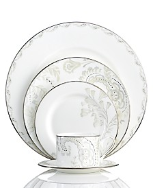 Marchesa by Lenox Dinnerware, Paisley Bloom 5 Piece Place Setting