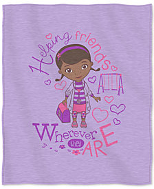 "Disney Doc McStuffins ""Doc Love"" 50"" x 60"" Sweatshirt Throw"