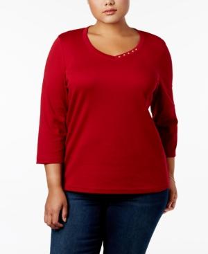 Karen Scott Plus Size...