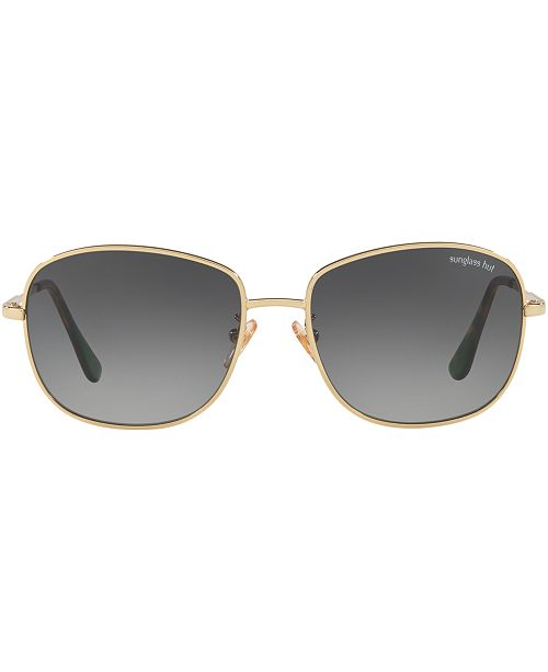 Sunglass Hut Collection Sunglasses, HU1002 56 & Reviews