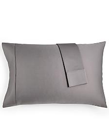 AQ Textiles Bergen Standard Pillowcase, 1000 Thread Count 100% Certified Egyptian Cotton