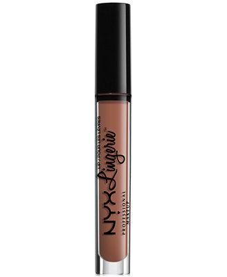 Lip Lingerie Matte Liquid Lipstick by Nyx Professional Makeup