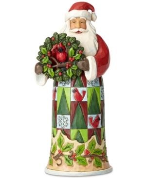 Jim Shore Santa Figurine,...