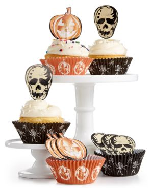 Image of Martha Stewart Collection Cupcake Liners & Toppers, Created for Macy's