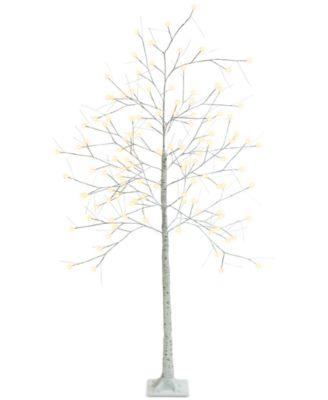 7-Ft. Decorative LED Birch Tree