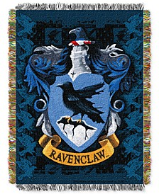 Harry Potter Ravenclaw Crest Triple Woven Tapestry Throw