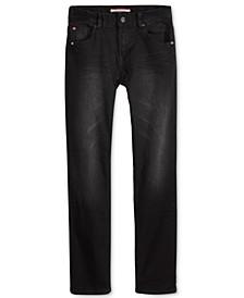 Regular-Fit Wrecker Stretch Jeans, Little Boys