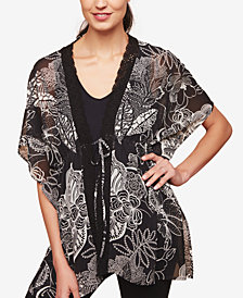 Motherhood Maternity Printed Kimono Blouse