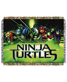 "Nickelodeon's Teenage Mutant Ninja Turtles 48"" x 60"" Triple Woven Tapestry Throw"