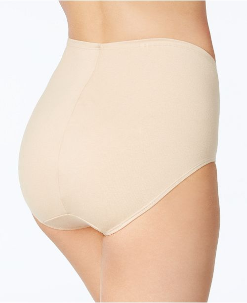 cc7469bd8a7 Bali Light Control One Smooth U Cotton Cool Comfort Brief 2 Pack X864 ...