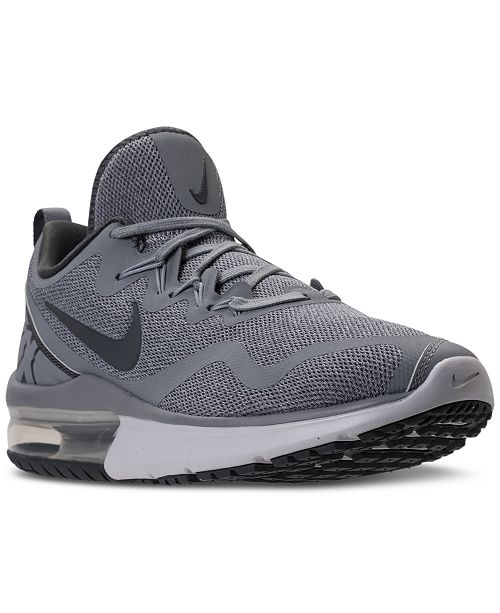 the best attitude 9a714 f3185 ... Nike Men s Air Max Fury Running Sneakers from Finish ...