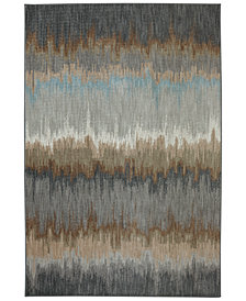 Karastan Euphoria Cashel Abyss Blue Area Rug Collection