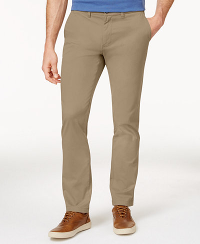 Tommy Hilfiger Men's Slim-Fit Stretch Chino Pants