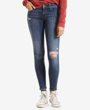 710 RIPPED SUPER SKINNY JEANS