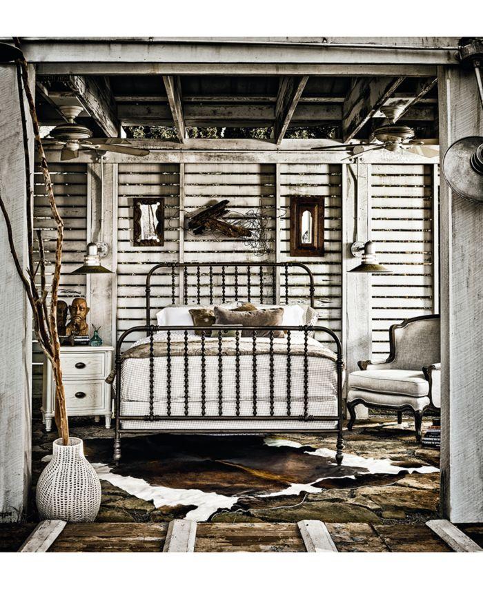 Furniture Athos Metal King Bed & Reviews - Furniture - Macy's