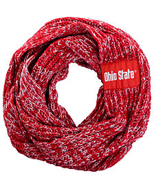 Forever Collectibles Ohio State Buckeyes Peak Infinity Scarf