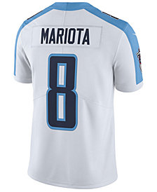 Nike Men's Marcus Mariota Tennessee Titans Vapor Untouchable Limited Jersey