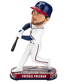 Forever Collectibles Freddie Freeman Atlanta Braves Headline Bobblehead
