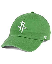 '47 Brand Houston Rockets Pastel Rush CLEAN UP Cap