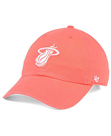 '47 Brand Miami Heat Pastel Rush CLEAN UP Cap