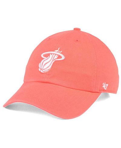 '47 Brand Miami Heat Pastel Rush CLEAN UP Cap