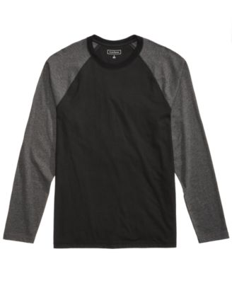 Image of Club Room Men's Raglan-Sleeve T-Shirt, Created for Macy's