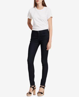Calvin klein jeans curvy skinny jeans rinse wash