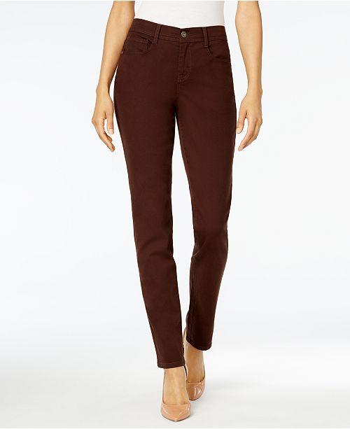 345362f9c9f ... Style   Co Tummy-Control Slim-Leg Jeans