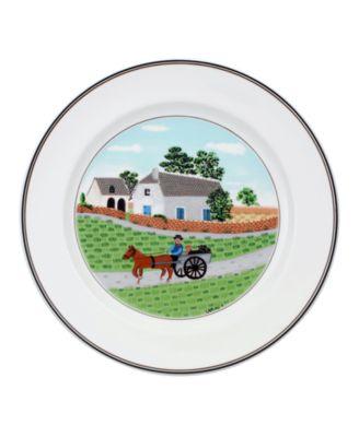 Dinnerware, Design Naif Dinner Plate Going to Market