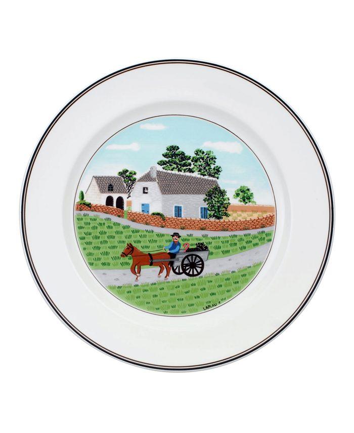 Villeroy & Boch - Dinnerware, Design Naif Going to Market Dinner Plate