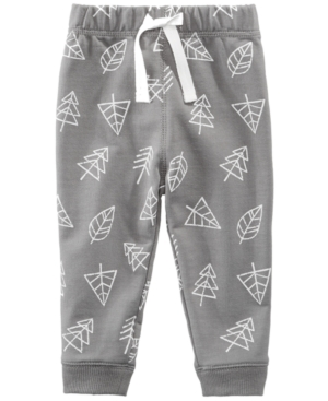 First Impressions TreePrint Jogger Pants Baby Boys (024 months) Created for Macys