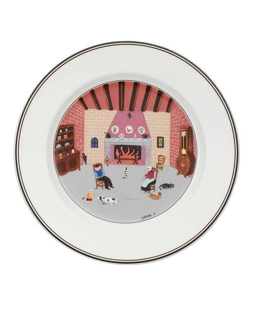 Villeroy & Boch Dinnerware, Design Naif Salad Plate By the Fireside