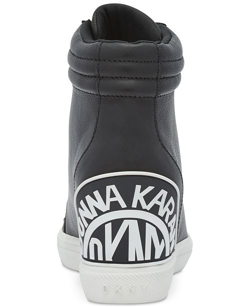 ad78b3bf9b1d ... DKNY Connie Slip-On Wedge Sneakers
