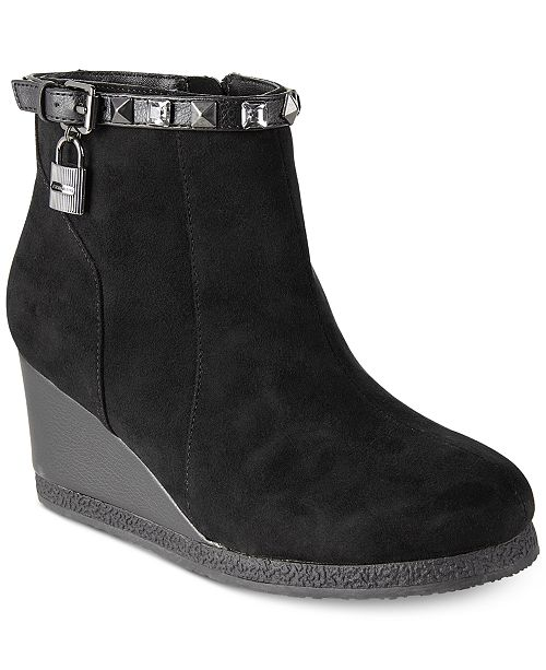 wedge boots girls