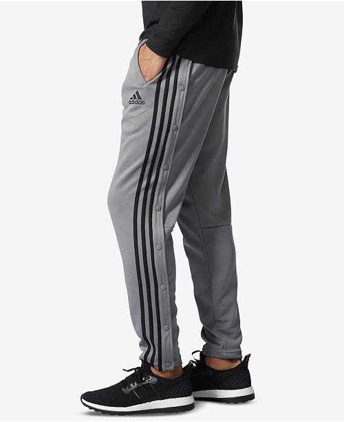 0a34756950e7 adidas Men s Snap Track Pants   Reviews - All Activewear - Men - Macy s