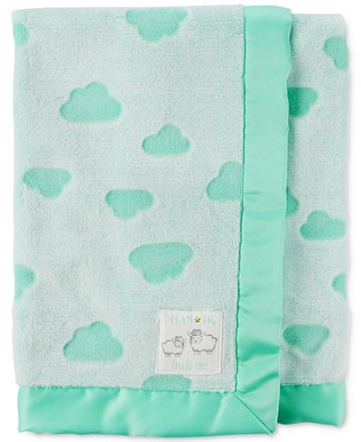 Carter's Cloud-Print Plush Blanket, Baby Boys & Girls